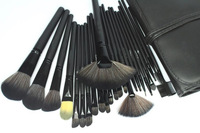 Professional 24 pcs Black Makeup Brushes Set & Kits 24pcs Makeup Brush Set Makeup Tools Cosmetics Facial Brushes For Makeup