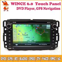 Wince Dash Stereo For GMC Yukon,Acadia,Sierra For Chevrolet Tahoe Big USB Support DVD GPS Camera Input Radio 3G Bluetooth SWC