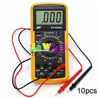 10pcs LCD Display Professional Electric Handheld Tester Meter Digital Multimeter