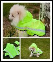 40pcs fashion cut Pet raincoat dog raincoats Pet reflective vest dog clothes poncho Medium Small dog raincoat S\M\L size