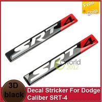NEW Car Emblem Stricker Decal Stricker For Dodge Caliber SRT-4 Hood Fender Console Trunk