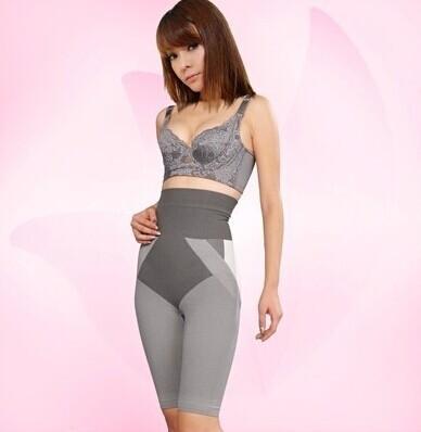 BAMBOO charcoal slim FULL body SHAPER WAIST cincher S-M/L-XL bodysuit women waist cincher body shaper(China (Mainland))