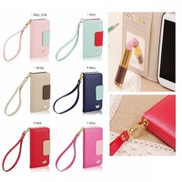 New Wallet Card Holder PU Leather Flip Case Cover For Galaxy S4 I9500