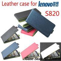 For Lenovo S820 Case flip case cover for Lenovo S820,for Lenovo S820 stand Flip Cover  free shipping