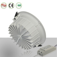 hontech-wins HT-THEXXC dimmable led downlight warm white pure white cool white led light for retrofit