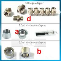 ego battery thread cone collar rings the Vivi nova DCT U-DCT adapter 510 ego threading fit EGO EGO-T Battery