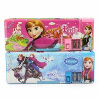 1pcs Frozen pencil box new Frozen shcool pencil case frozen Princess Pencil case