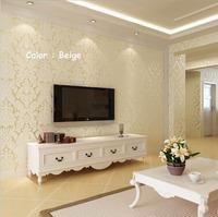 Fashion   papel de parede  3d photo desktop wallpaper  for walls Pattern Damask tapete Wall paper roll tapete  Wallcoverings