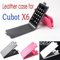 For cubot X6 Case Flip leather case for cubot X6,for cubot X6 PU Leather Case Flip cover free shipping