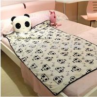With 100cm Coral Fleece Blanket FREE SHIPPING Kawaii Cute Plush Round Panda Pillow Cushion For Children Girlfriend Birthday Gift