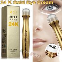 24K Gold Essence Repair Eye Ball cream anti aging dark circle wrinkles moisturizing gold activate eye cream 10ML