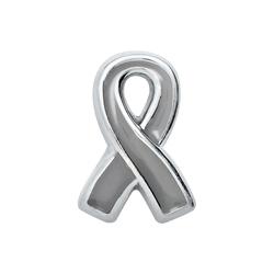 free shipping gray silk ribbon floating locket charms FC263.4(China (Mainland))