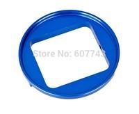 52mm UV Lens Filter Adapter Ring for GoPro Hero 3+ HD Camera - Blue