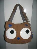 Backpack sections classic eyed cartoon single shoulder bag 2014 New Women Cartoon Cat Ear Shoulder Bag Backpack