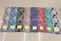 10pcs/lot Fashion Dot Print Scarf Wrap Shawl Women's Accessories, Free Shipping