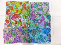 10pcs/lot Fashion Floral Flower Print Scarf Wrap Shawl Women's Accessories, Free Shipping