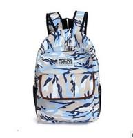 Camouflage backpack students Cartoon Cat Ear Shoulder Bag Backpack Schoolbag Men Canvas Backpacks Travel Women's Colorful Canvas