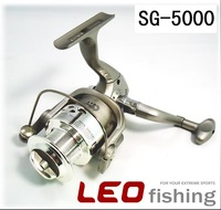 6BB Ball Bearings Left Right Hand Interchangeable Collapsible Handle Fishing Spinning Reel SG5000 5.1:1 for Outdoor SportsZFC112