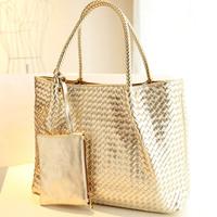 high quality Fashion Messenger Bags Canvas Super patchwork Gold Sliver Free Shopping Tote Handbag Casual Shoulder bag J3496