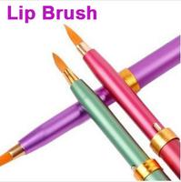 Portable Cosmetics Telescopic Lip Brush Brushes for Lipstick Lip balm Makeup