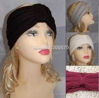 Women knot style Knit Headband Ear Warmer Acrylic Hairband