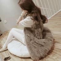 2014 winter Woman fashion clothes new fox   fur overcoat