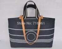 Famous designers brand woman bags fashion  2014 brand women's Classic CC logo Denim Canvas Travel Line designers brand handbags