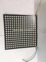 Promotion!!!P10mm WS2812B 16*16pixels led digital flexible panel light,size:17cm*17cm,DC5V input