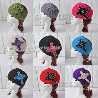 NEW Style Cross Diamond Knit Headband Crochet Hairband Winter Ear Warmer
