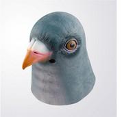 Latex Dove  Mask Creepy Halloween Animal Costume Theater -Fancy Dress