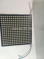 P10mm WS2812B 16*16pixels led digital flexible panel light,size:17cm*17cm,DC5V input