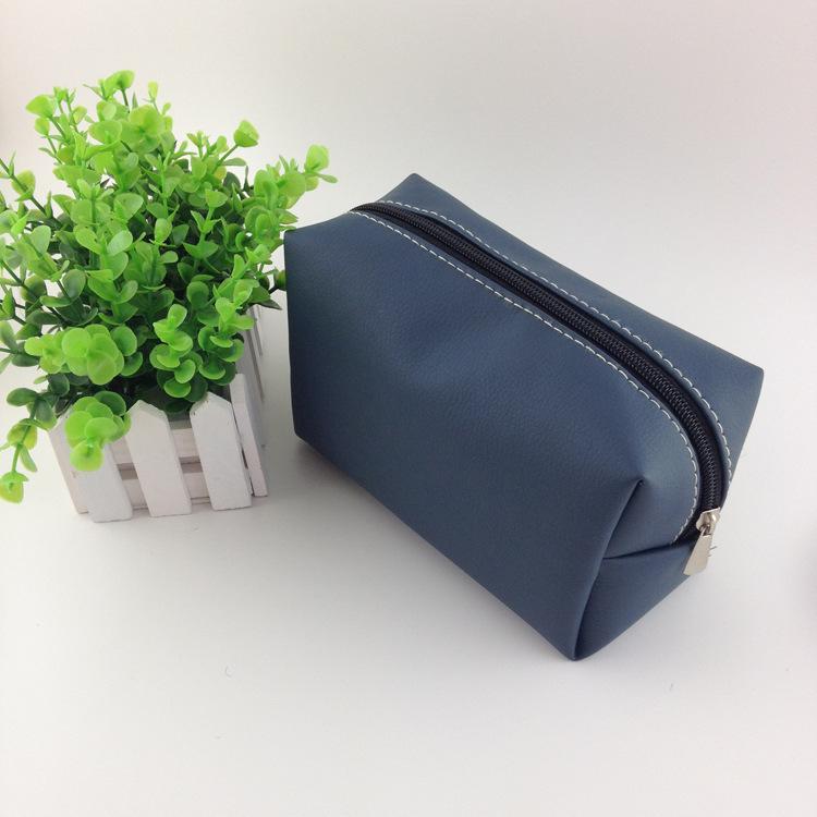2014 Explosion high-quality elegant fashion women clutch minimalist practical make up bag cosmetic case free shipping.QB0922(China (Mainland))