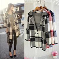 2013 Design New Spring/Winter Trench Coat Women Grey Medium Long Oversize Warm Wool Jacket European Fashion Overcoat