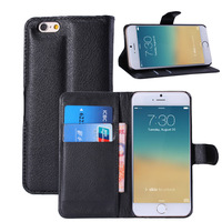 500pcs/lot New Arrival Wallet Leather Case for Apple iPhone 6 4.7inch with Stand lesther skin Flip Phone Cover for iphone6