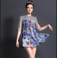 M32831 free shipping high degree new design 5XL 100% authentic Autumn and Winter elsa dress