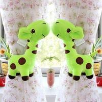 HD0115 Large 28cm height giraffe creative cartoon plush cloth curtain buckle children bedroom curtain accessories 1pair/lot
