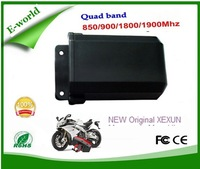NEW Original XEXUN Quad Band Motorcycle Motorbike GSM GPS Tracker XT-009 IP67 Waterproof,Support SMS&GPRS tracking XT009