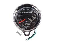 Nextrox ED Dual Odometer Speedometer Retro Gauge Waterproof