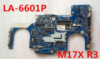 100% Original Mainboard for M17x R3 Laptop Motherboard MB CN-0GFWM3 0GFWM3 GFWM3 PAR00 LA-6601P 100% fully tested