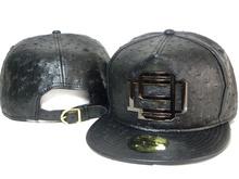 2014 Brand Designer D9 Reserve Leather Strapback Hat Black 20 Styles Leopard Print mens women hip hop Snapback Caps sports hats(China (Mainland))