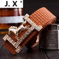 2014 hot new fashion men's brand of high-end leather belt buckle Smooth G Men Women belt buckle