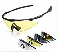 Riding sunglasses Anti-sandstorm HD Outdoor sports glasses Cycling accessories Cycling glasses Explosion-proof lenses TK07