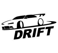 Car Sticker JDM DUB Drift Car  waterproof stickers outdoor decal reflective stickers