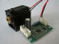 NEW 532nm 200mW Green Laser Module with Driver (808nm/532nm&660nm + TTL) +heat sink