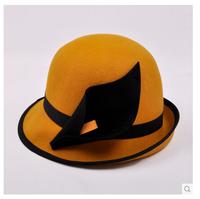 2014 women's woolen wool fedoras women's elegant fashion warm hat