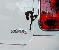 Free Shipping Style Car Stickers, Beauty Car Decal , Pole Dancing Waterproof On Rear Windshield Door Tank Lid Sticker