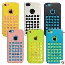 Original soft case for iphone 5c Fresh silicone cover for iphone5c for i phone 5 c covers Good quality cases(China (Mainland))