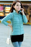 Factory Direct Wholesale Womens 90% White Duck Down Jacket Slim Women Down Coat Fashion Winter Parka Overcoat Outerwear