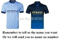 de all player Manchester kun Aguero Lampard Kompany City Top Thailand Quality football shirt soccer jersey custom name shorts