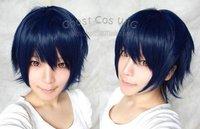 New Uta No Prince-sama Ichinose Tokiya Short Dark Blue Cosplay Wig Free shipping + Free Cap